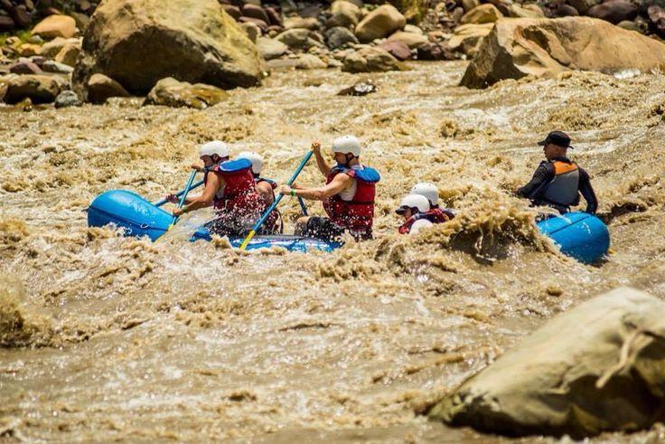 Rafting en Santander Foto Mauricio Olaya