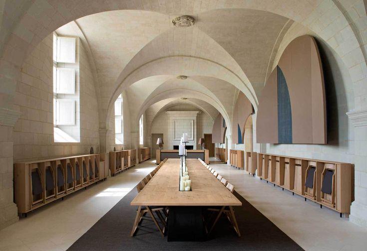 Abbaye de Fontevraud by Patrick Jouin | Yellowtrace