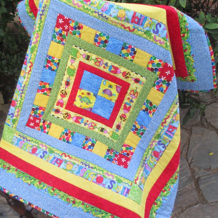 "Hand-made quilt, 100% cotton, unisex quilt, 39""x39"", one-of-a-kind, patchwork, quilting, patchwork quilt, baby quilt, child's quilt, by LittleLarkClothing on Etsy"