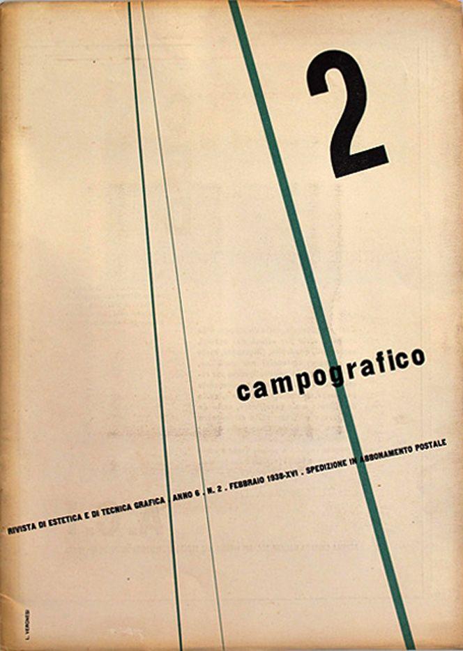 Campo Grafico Nº.2 - Luigi Veronesi, February 1938