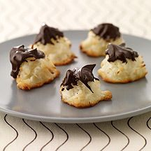 Choc Dipped Macaroons (1=2 pts) Made these tonight-soooo easy and yummy!