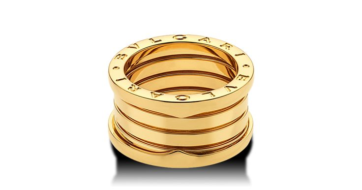 B.zero1 Yellow Gold RingsAN191025 - Discover BVLGARI's Italian jewelry and other luxury goods on the official website www.bulgari.com