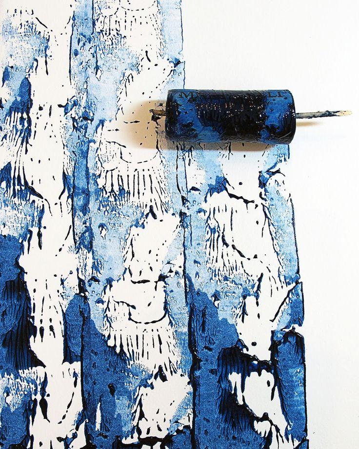 Jennifer Coyne Qudeen cork printing
