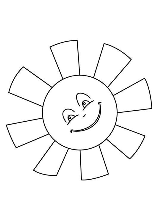 Ms de 25 ideas increbles sobre Sol para colorear en Pinterest