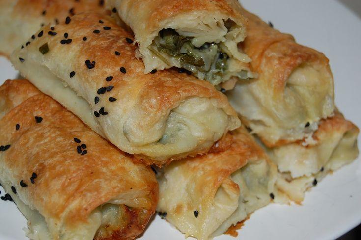 yemek: hazır yufkadan pazılı börek [1]