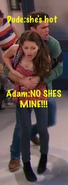 Chase is would probably be like: Both of you stay away from her! She's mine.