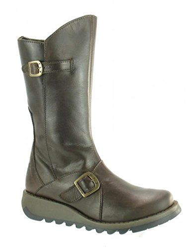 Fly London Mes 2 Dark Brown Boots US: 5.0 UK: 3 -- To view further for this item, visit the image link.