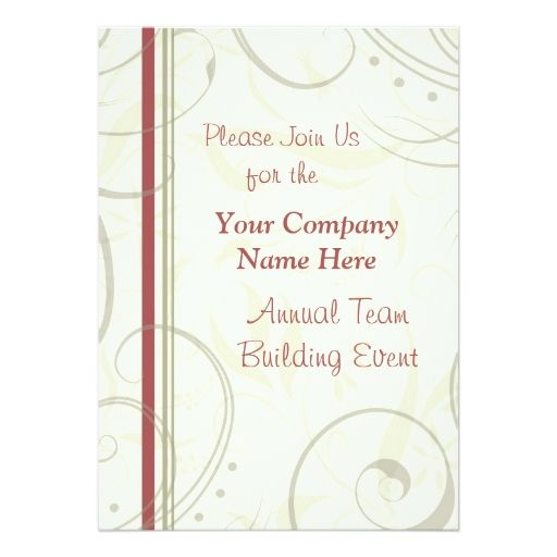 815 best corporate event invitations images on pinterest black corporate team building event weekend invitations 5 x 7 invitation card stopboris Gallery