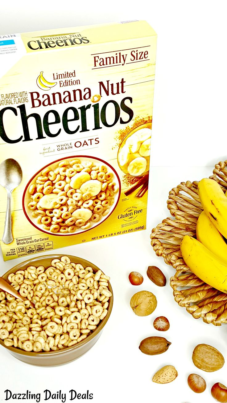 Start Back To School Off Right With General Mills Banana Nut Cheerios found at @walmart #AD #NewYearNewCereal