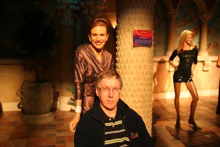 New Yorkin vahakabinetissa Julia Robertsin kanssa 2010 :-)
