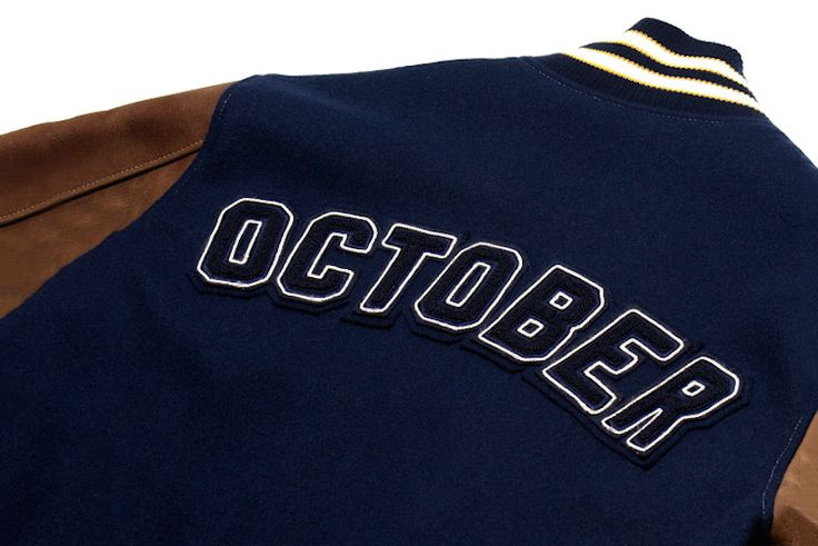 Varsity jackets are essential for fall. We have our eyes on this Drake x OVO x Roots one!
