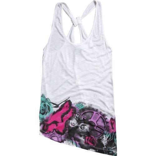 Fox Racing Socialite Girls Tank Casual Wear Shirt - White/small