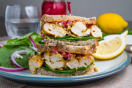 Chicken Recipes, Moroccan Grilled, Food, Harissa Mayo, Preserves Lemon ...