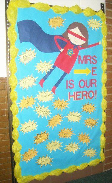17 Best Images About Superhero Teacher Appreciation On