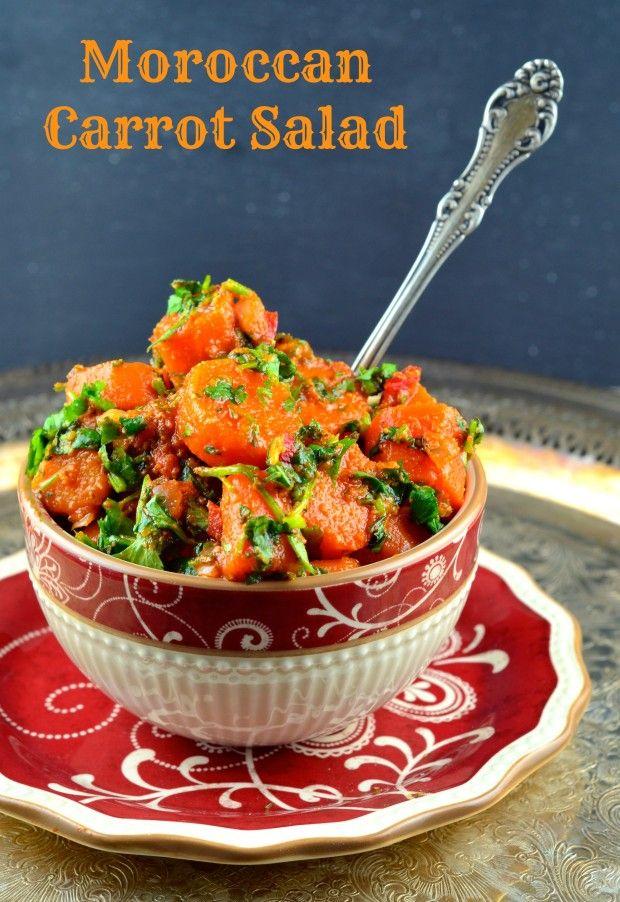 Gluten Free Passover Recipes Part 2: Moroccan Carrot Salad #shareSabra