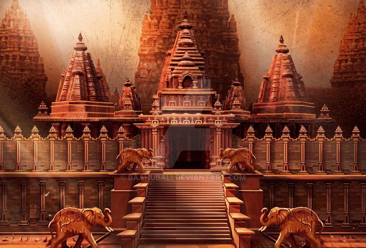 Temple Concept 1 by Baahubali.deviantart.com on @DeviantArt