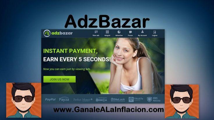 AdzBazar,Nueva PTC con administradores confiables