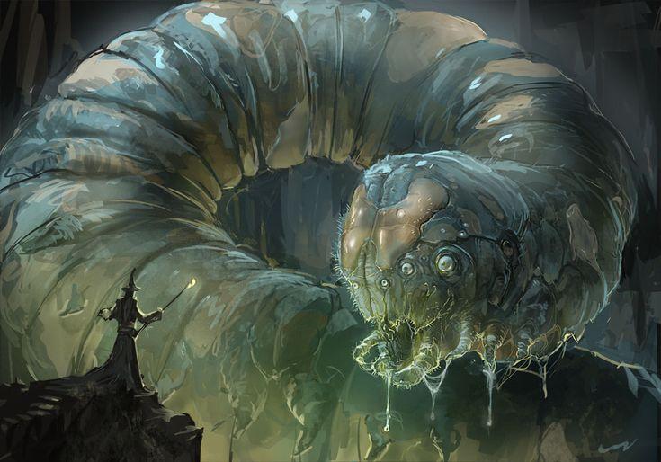 Giant Caterpillar by jbrown67.deviantart.com on @deviantART