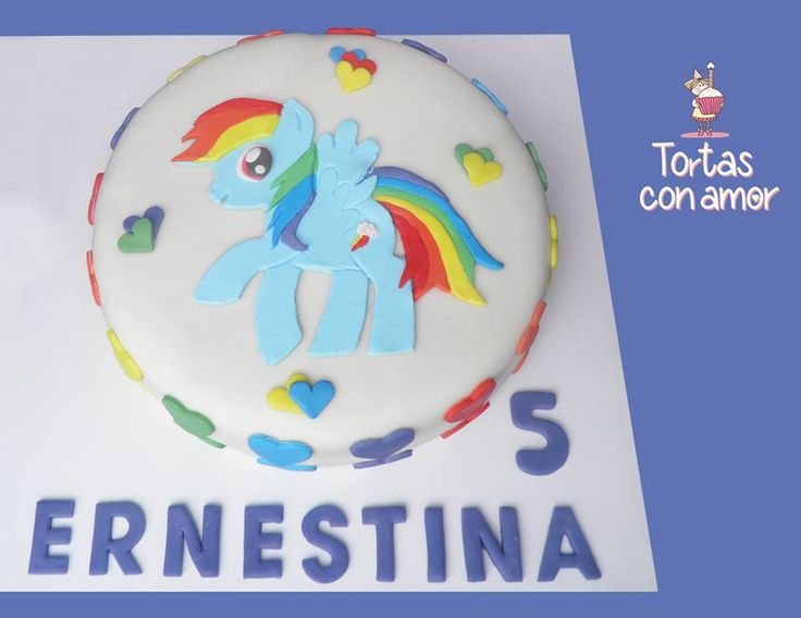 My little pony - Rainbowdash Cake