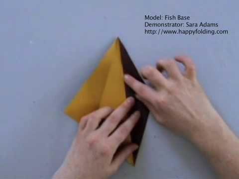 Fish Base: Instructions   Happy Folding