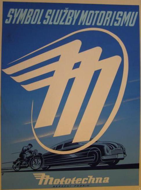 Mototechna logo 1950s  via @IMargolius