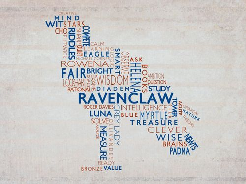Question 6, part 2 - Ravenclaw.  I'm slightly clever and not at all courageous or patient.  Perhaps a bit cunning, but I think my extreme dislike for mean people would keep me out of Slytherin.