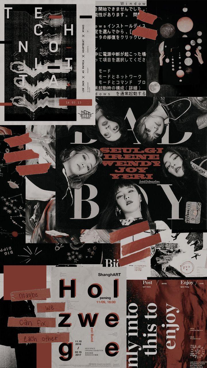 Red Velvet Aesthetic Reblog If You Save Use Please Open Them To Get A Full Hd Lockscreen Do Not Rep Velvet Wallpaper Red Velvet Photoshoot Red Velvet