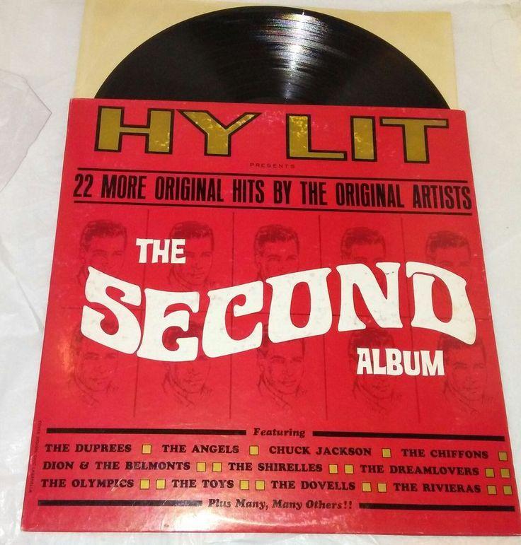 Hy Lit Second Album 22 Hits Original Artists Vinyl LP POST-666 Ex/Ex Pop Music #1950s1960s