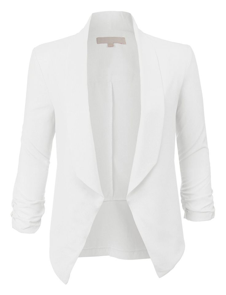 17 Best ideas about White Blazer Women on Pinterest | White blazer ...