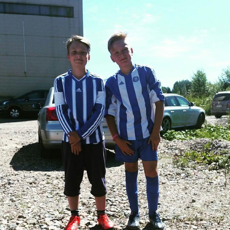Jooa Vento ja Noel Kivinen Hesa Cupissa 2016