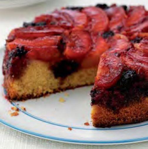 NEFF - CookingPassion Blog:Torta di polenta_ai frutti di bosco e pesche noci #ricette #ricettedolci #torte