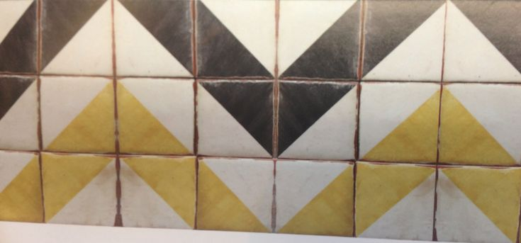 Great geometric tile to use on wall