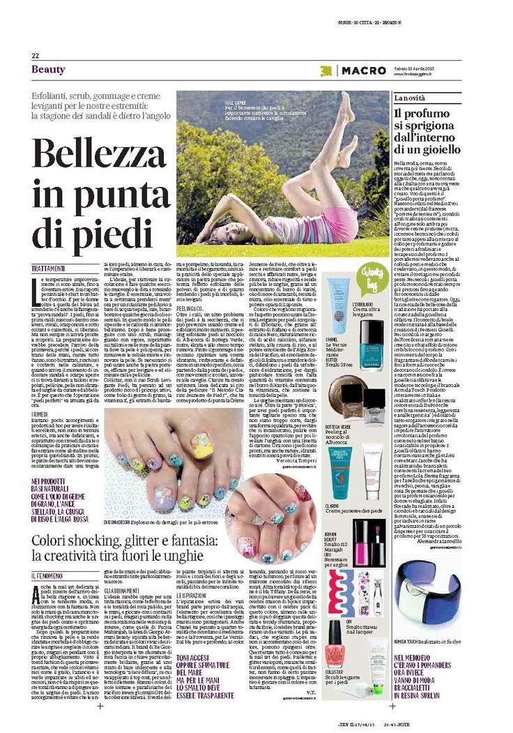 Il messaggero talking of @armidatouch!