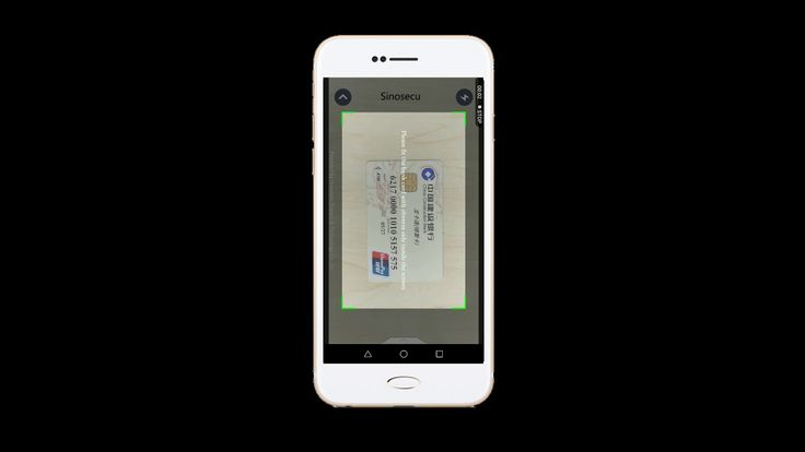 Sinosecu Credit Card Reader for iOS and Android