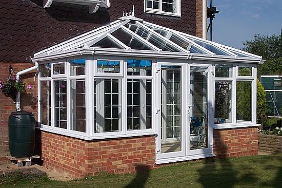 Edwardian Conservatory with Roof Glass More lovely conservatories at http://www.ConservatoryWeb.co.uk