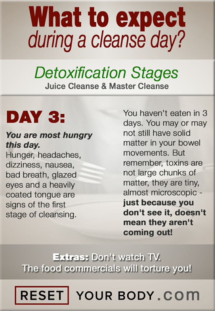 8 best day by day cleanse expectations images on pinterest bread day 3 malvernweather Gallery