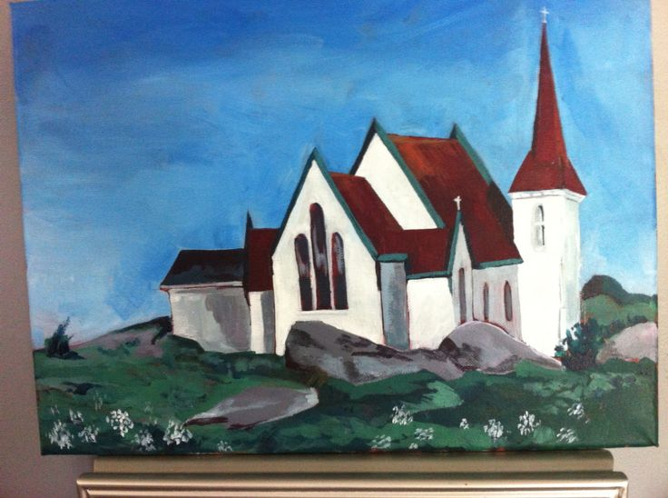 Church in Peggy's Cove