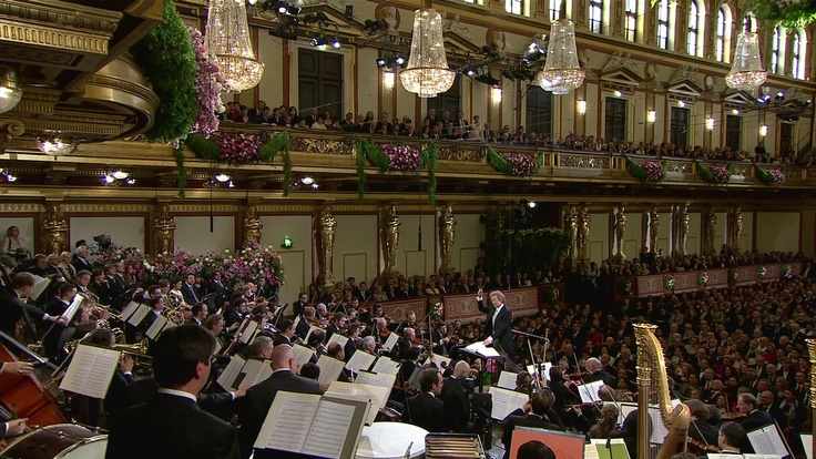 New Year´s Concert Vienna Philharmonic with André Rieu