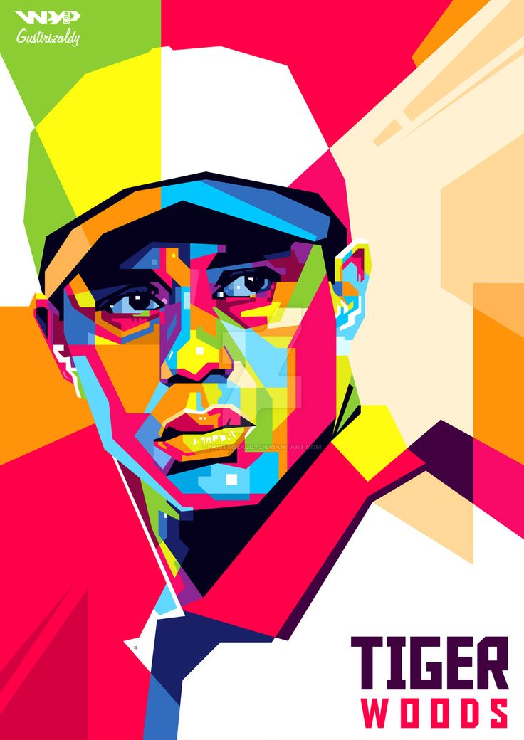 che guevara pop art | WPAP Tiger Woods by Gustirizaldy on DeviantArt