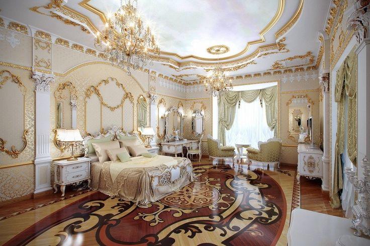 Interiores Lujosos Estilo Louis