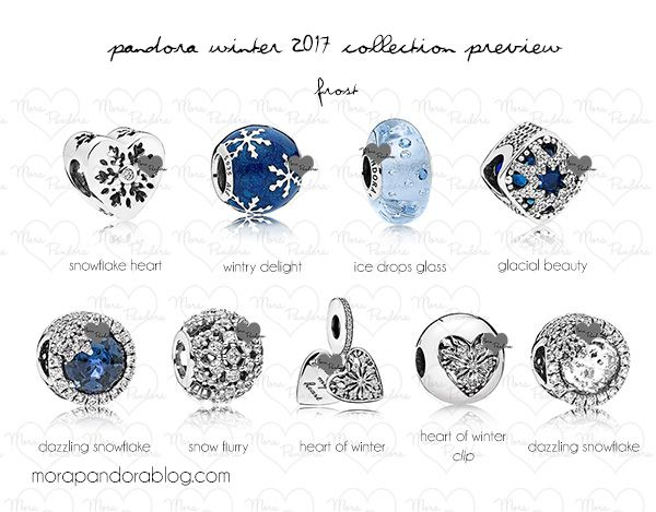 pandora winter 2017 collection preview