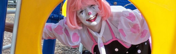 sweet clown lady face | Molly the Clown - Katie the Party Lady, Clowns for hire in Atlanta ...