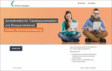 Klinikum Stuttgart | Transfusionsmedizin, Blutspendedienst | Blutspende