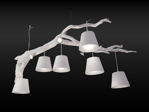 Oak suspension lamp > Maretti, for years the lighting specialist, with an exclusive collection of suspension lamps.