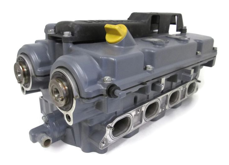 2000 Yamaha Outboard Cylinder Head Assembly #Yamaha #Outboard #CylinderHead #Cover #Valves #Cams #4-Stroke #80hp #67F #MichiganFreshwaterMarine