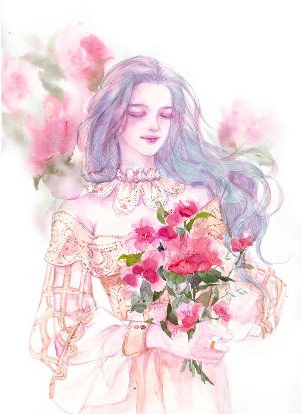 花成霜-ENOFNO__涂鸦王国插画