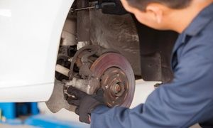 Groupon - Brake-Pad Replacement and Inspection from Rovin' Mobile Mechanic (49% Off) in Austin. Groupon deal price: $45