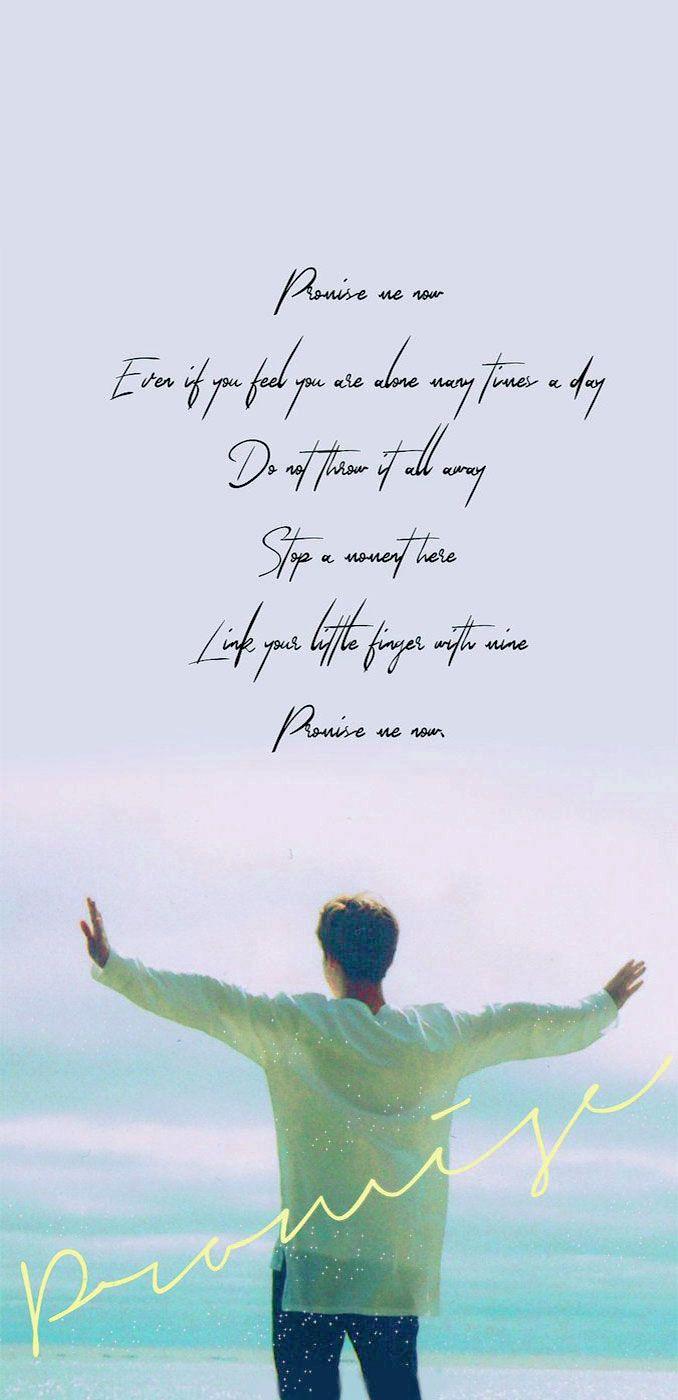Promise lyrics jimin