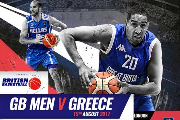 Discount UK Sporting Events 2017 British Basketball GB V Greece - Family Option Available! From £10 for a ticket to see GB V Greece senior men's basketball at the Copper Box Arena, Olympic Park - save up to 55%