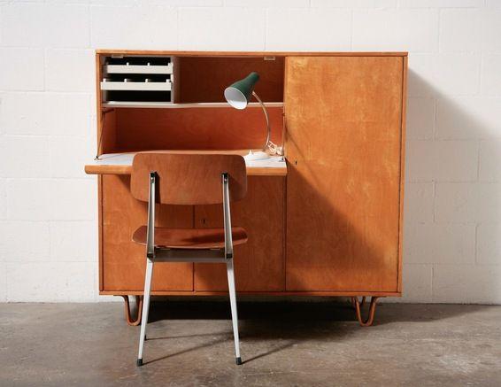 CEES BRAAKMAN FOR PASTOE DESK CABINET: Amsterdam Modern ($500-5000) - Svpply